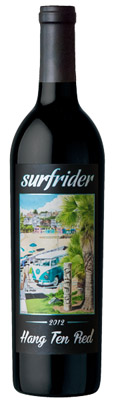 2012 Surfrider Hang Ten Red - VW Edition Product Image